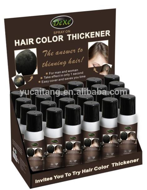 temporal colorfui estilo de pelo del pelo del aerosol de color
