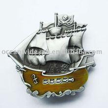 Belt Buckle (Pirate Ship Warship Boat)