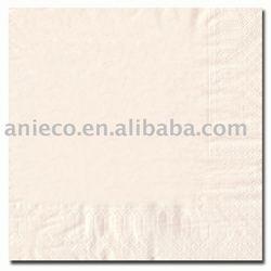 salmon color paper napkin