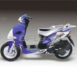 4 Stoke 125cc Gas Motor Scooter with EEC Certification MS1266EEC