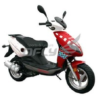EPA Approved 4 Stroke 150cc Gas Motor Scooter MS1516EPA