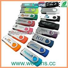 2013 New!!Swivel USB Memory Stick with Custom LOGO