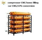 CNG Tank sheet 60L 80L 100L 120L typeI II natural gas compressor home use refuel car