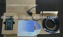 Siemens cable de programación plc 6es7 972 - 0cb20 - 0xa0 pc/mpi+ usb/ppi usb/ppi+