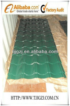 Galvanized color coated steel tile/antique color coated steel tile