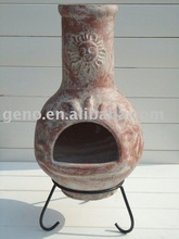 Hot selling! Manufacturer for high quality terracotta clay chimenea