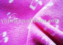 printed shu velveteen fabric/polyester fabirc/polyester baby blanket fabirc
