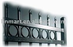 iron/aluminium fence
