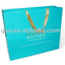 Large carrier paper gift bag