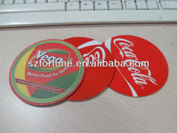 paper coaster ,promotional cardboard coaster ,tableware coaster
