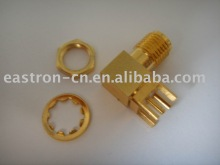 SMA jack right angle electrical fittings to pcb