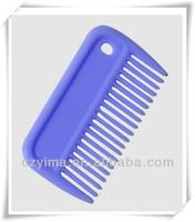 Plastic horse mane comb for horse