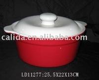 LD11277 porcelain cooking soup pot