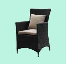 2012 good selling rattan dining chair outdoor furniture