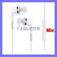 Bass Sound In Ear Mic Headphone for iPad Air 5 / iPod Nano 7