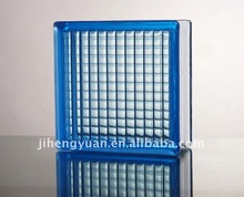 Clear blue parallel glass block, 190*190*80MM