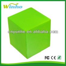 PU cube anti-stress foam squeeze reliever ball