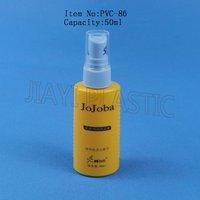 pump bottle/ cosmetic bottle/ gel bottle/hair styling bottle/ hair care bottle/plastic bottle