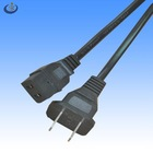black AC power cord