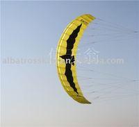 5.0SQM power traction kite for buggying/landboarding /skiing