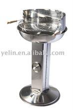 "18"" stainless steel pillar BBQ grill"