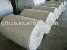Polyester mat used for waterproofing membrane base
