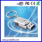 Cheaper Swivel 1gb 2gb 4gb 8gb Metal USB Flash Drive Keychains