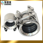 dn25 stainless steel galvanized gi aluminum iron repair pipe clamp