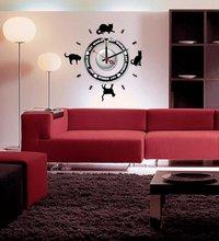 Mantel DIY wall sticker clock