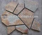rough stone flooring