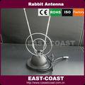 oreja de conejo deinterior antena de tv