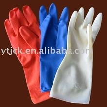 Rubber household gloves