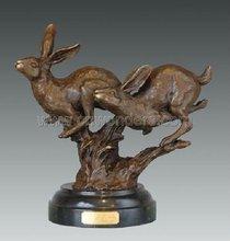 2011 Hot sale animal sculpture bronze of Rabbits (AL352)