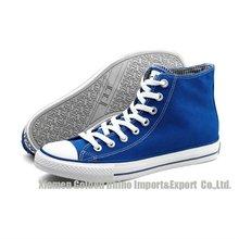 popular men high cut canvas shoes hot selling 2012