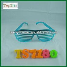 Rainbow Slotted Sunglasses/party sunglasses