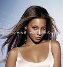 "20"" 1# Brazilian human hair full lace wig Beyonce style"