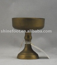2.7''small brass candle holder/stand for themples/churches A8-028(E500)