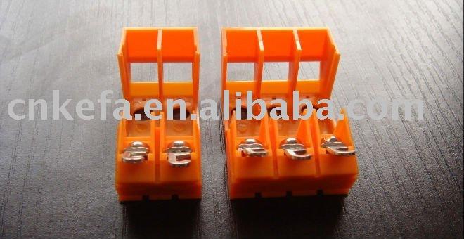 transformer terminal block connector 10.0mm pitch 750V 30A 2P 3P
