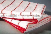 Colour stripe microfiber kitchen home care products turkish bath towels magnet window clean