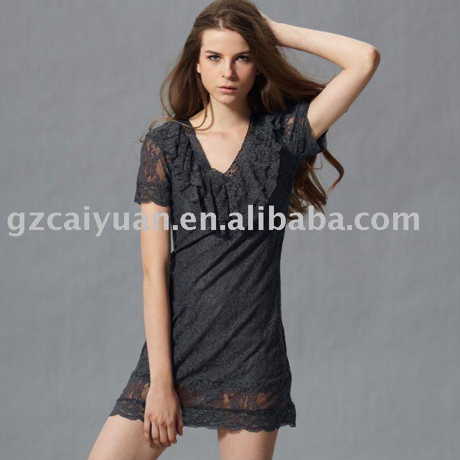 formal dresses 2011 australia. 2011 black short sleeves lace