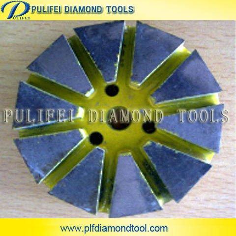 Concreto de diamante pulido del piso pads- tipo segmentado