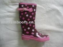 Women' rubber rain boots