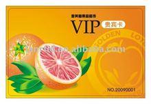 promotional PVC VIP card