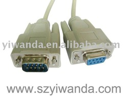 good quality VGA DB9 MALE to FEMALE cable