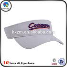 promotional pvc sun visor/ can do your own logo