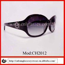 acetate brand name quality female fashion sunglasses 2012