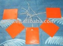 rubber heater 3.7v,7.4v,12v,24V,48V,230V,380V can be made as you requirements