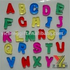 Letter And Alphabet Window Gel Sticker