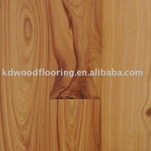 Cypress knotted engineered wood floor