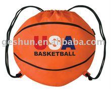 210t polyester basketball/football drawstring bags